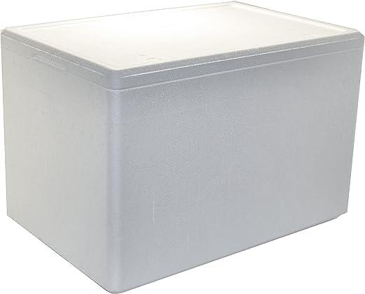 Tropic-Shop Poliestireno Cajas/Poliestireno Caja/thermowelt 595 x ...