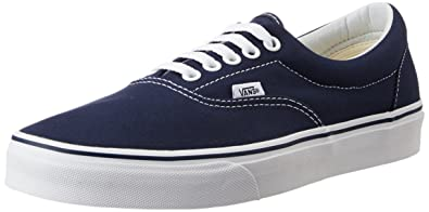 Image Unavailable. Image not available for. Colour  Vans Unisex Era Navy Leather  Sneakers ... 6252d1d0e