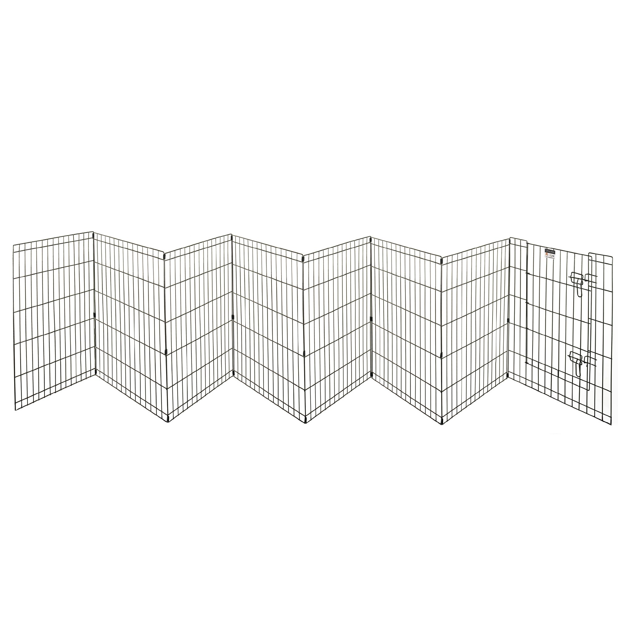 Pet Trex 30'' Playpen for Dogs Eight 24'' Wide x 30'' High Panels by Pet Trex (Image #5)