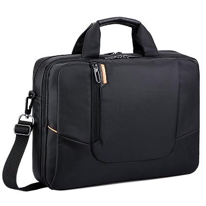 Brinch funda de maleta de nailon suave de ordenador portátil antigolpes bolso bandolera mango maletín con