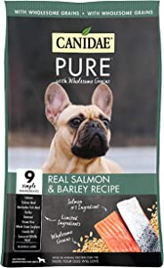 Canidae Pure with Wholesome Grains, Limited Ingredient Dry Dog Food, Salmon and Barley, 24lbs