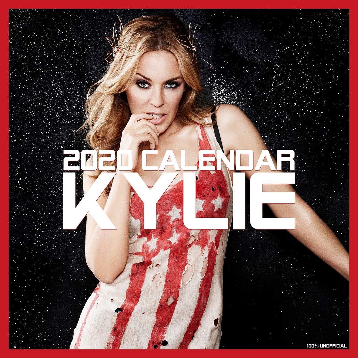 Kylie Minogue 2020 - Calendario de pared de 12 x 12 cm, cuadrado, con póster, el regalo perfecto de Navidad o regalo para amigos o familia