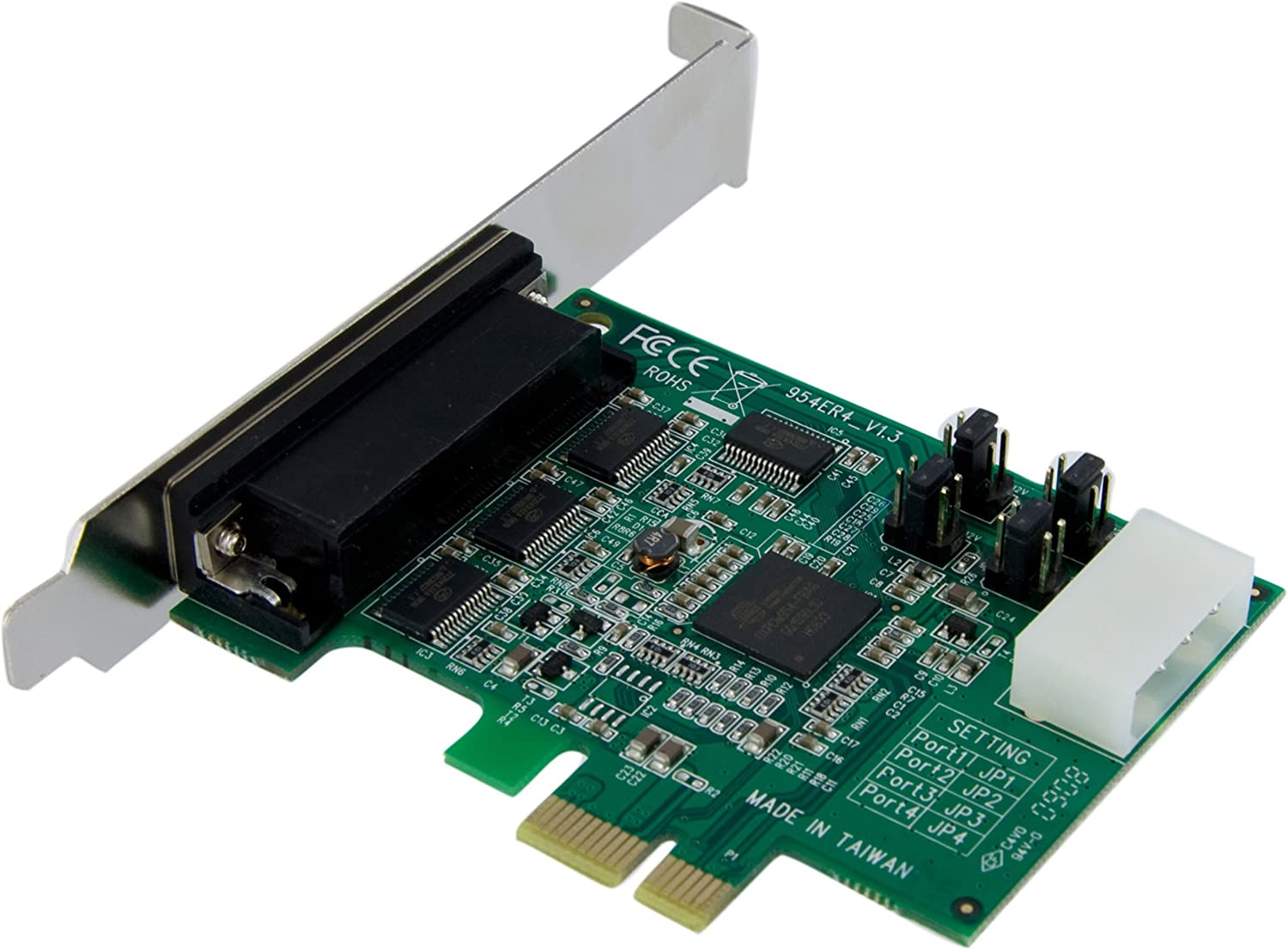 Amazon.com: StarTech. com Tarjeta Adaptadora PCI Express ...