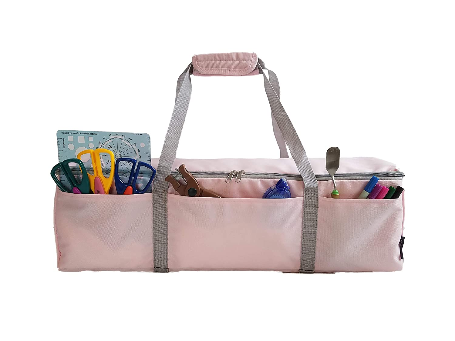StarPlus2 Craft Machine Carry Bag Explore Air 2 Explore One Sized to Fit Cricut Explore Explore Air Velcro Handle Pink Not Padded Maker