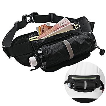 Bauchtasche Gürteltasche mit Trinkflasche Sporttaschen & Rucksäcke