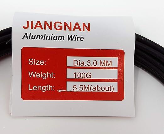 Bonsai Styling Wire Alambre 100 g, 3,5 mm