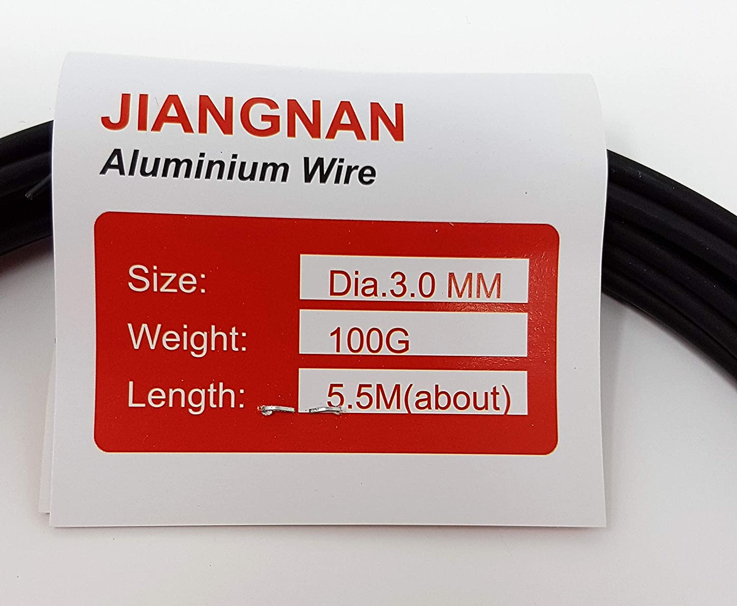 100g Bonsai Tree Wire - All Sizes Available. Annealed Aluminium (3.0mm) Hui-Tong