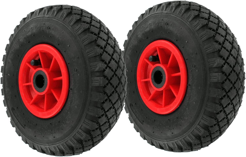 10 Lufträder  Rad 260//85 mm Nr.1 Sackkarrenrad  Transportrad 3.00-4