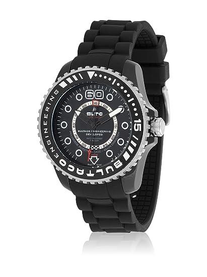 Bultaco Reloj analogico para Hombre de automático con Correa en Acero Inoxidable BLPB45ACB1: Amazon.es: Relojes