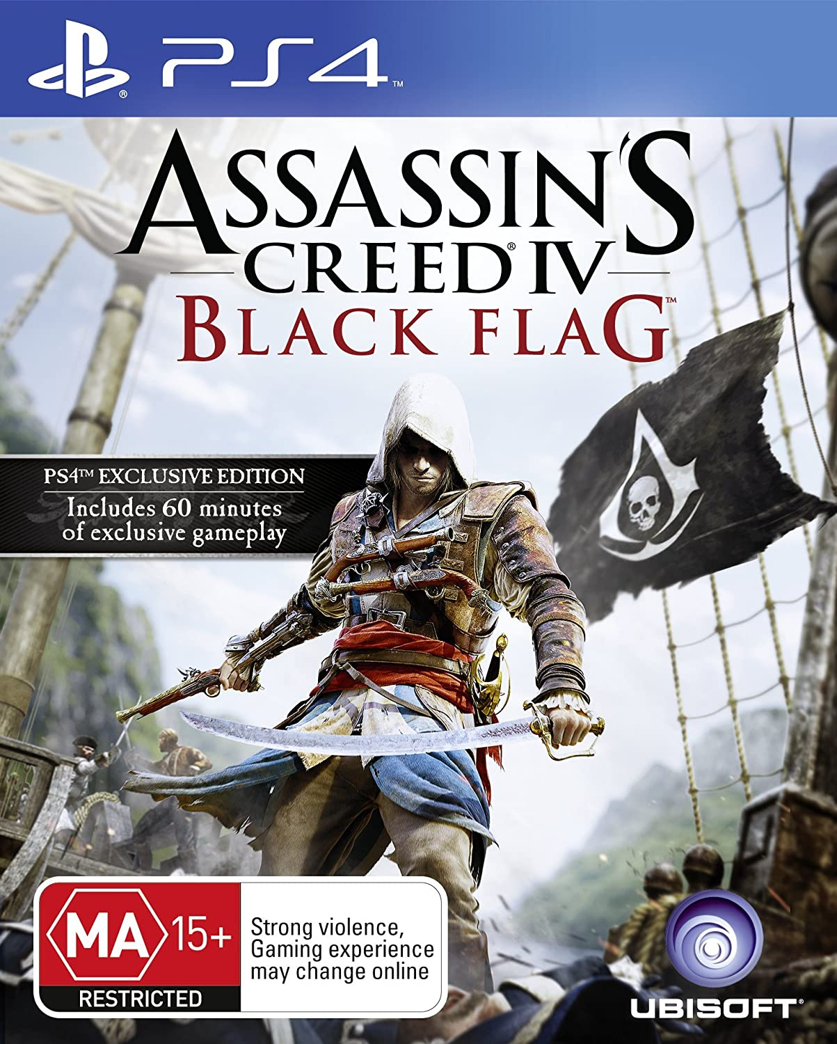 Amazon Com Assassin S Creed Iv Black Flag Ps4 Video Games