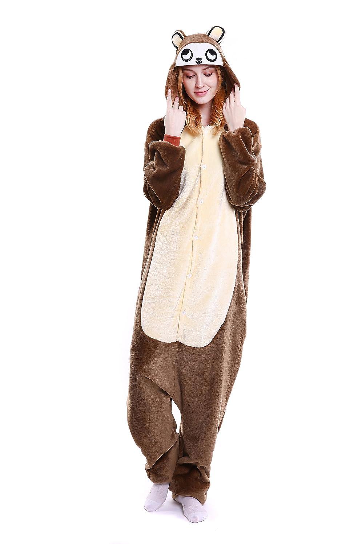 c996324334 Amazon.com  Yutown Unisex-Adult Animal Onesie Pajamas Kigurumi Cosplay  Costume Halloween Monkey  Clothing