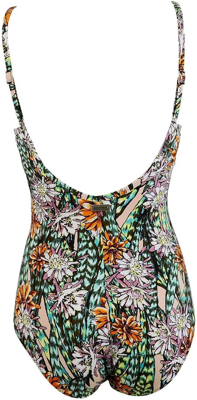 Red Point Beachwear, Femme, Bikini soutien-gorge, Top réducteur mousse, Papua, Taille FR: 100, Bonnet C, multicolore