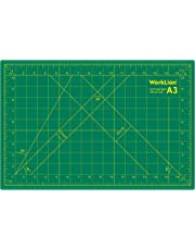 """WORKLION 12"""" x 18"""" Art Self Healing PVC Cutting Mat, Double Sided, Gridded Rotary Cutting Board for Craft, Fabric, Quilting, Sewing, Scrapbooking Project"""