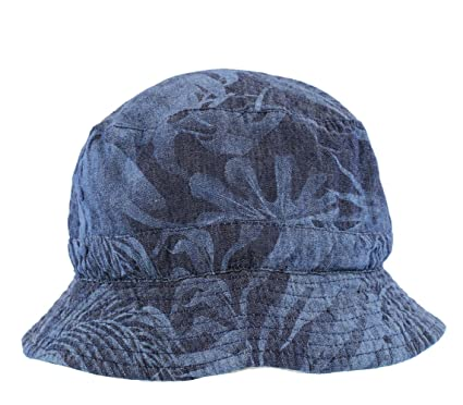 0f49d3fbf The Hat Company Men's Reversible Bucket Hat with Palm Tree Design