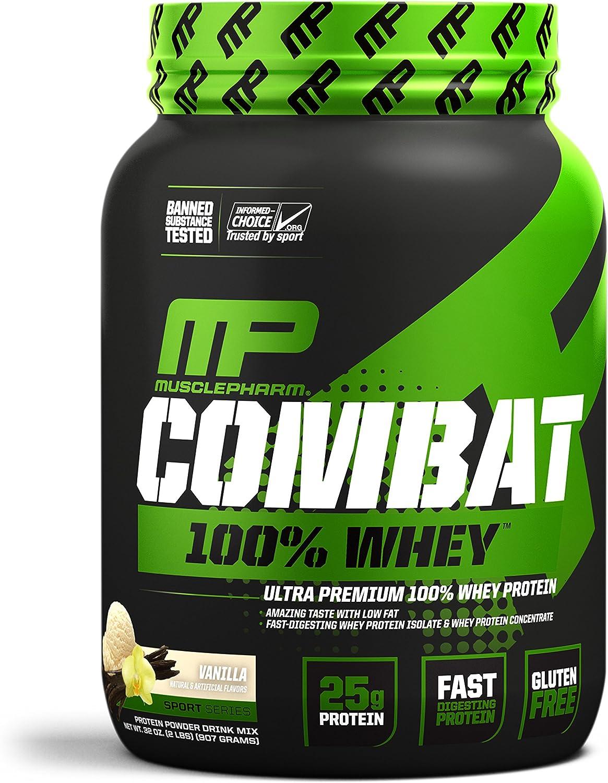 Combat 100% Whey 2 lb (907g) Vainilla