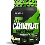 MusclePharm Combat 100% Whey Protein Powder, Vanilla, 2 Pound
