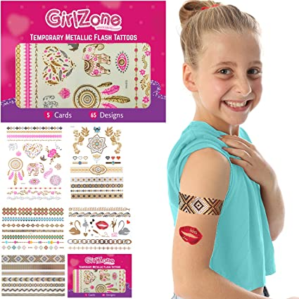 GIFTS FOR GIRLS Flash Tattoos For Girls