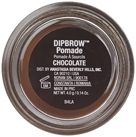 amazon com anastasia beverly hills dipbrow pomade chocolate 4 0 g 14 oz beauty