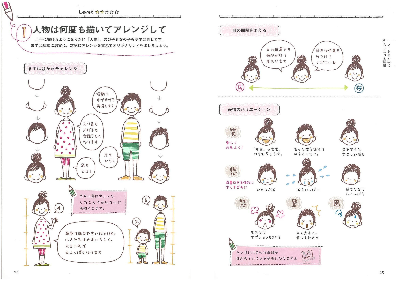 可愛い 女の子 イラスト 簡単
