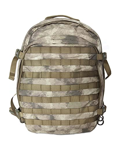 Hanks Surplus Military Style Molle Travel Hiking Camping Multi Day Backpack  (A-TACS ( 3f99911d0f