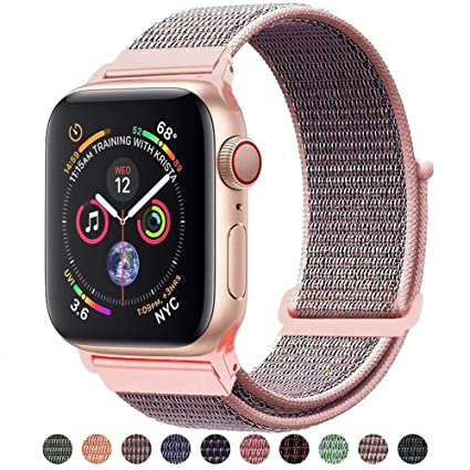 e2360a64b Amazon.com   Tces Sport Band Compatible with Apple Watch Band 38mm ...