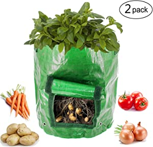 Giveaway: Kyerivs Garden Potato Grow Bag 2 Pack 10 Gallon Vegetables…