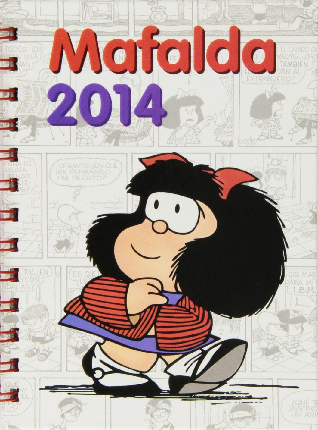 Agenda Anillada 2014. Mafalda: Amazon.es: Vv.Aa.: Libros