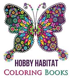 Hobby Habitat Coloring Books