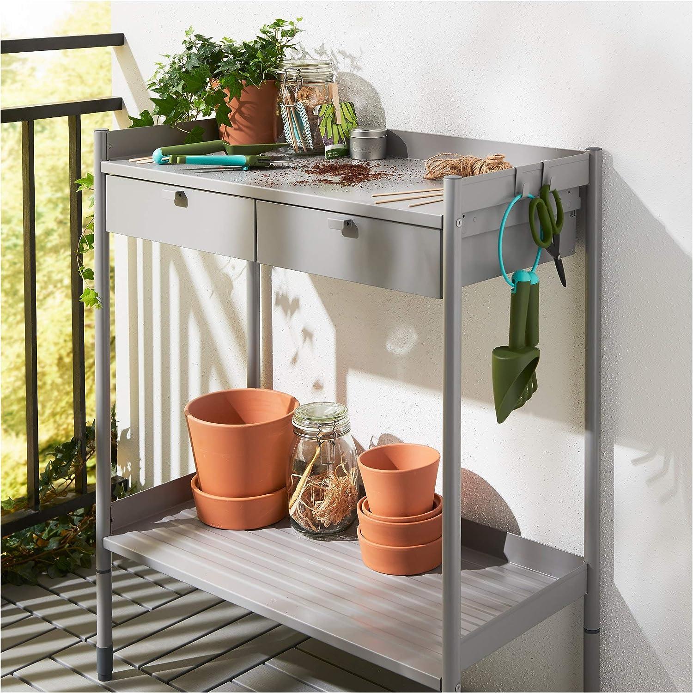 Ikea Table De Rempotage Gris 426 29511 222 Amazon Fr Jardin