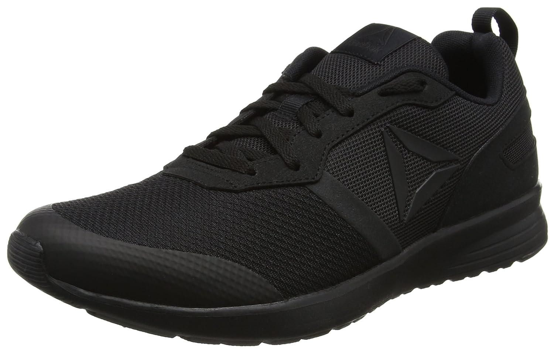Reebok Foster Flyer, Zapatillas de Entrenamiento para Hombre 40.5 EU|Negro (Black / Coal)