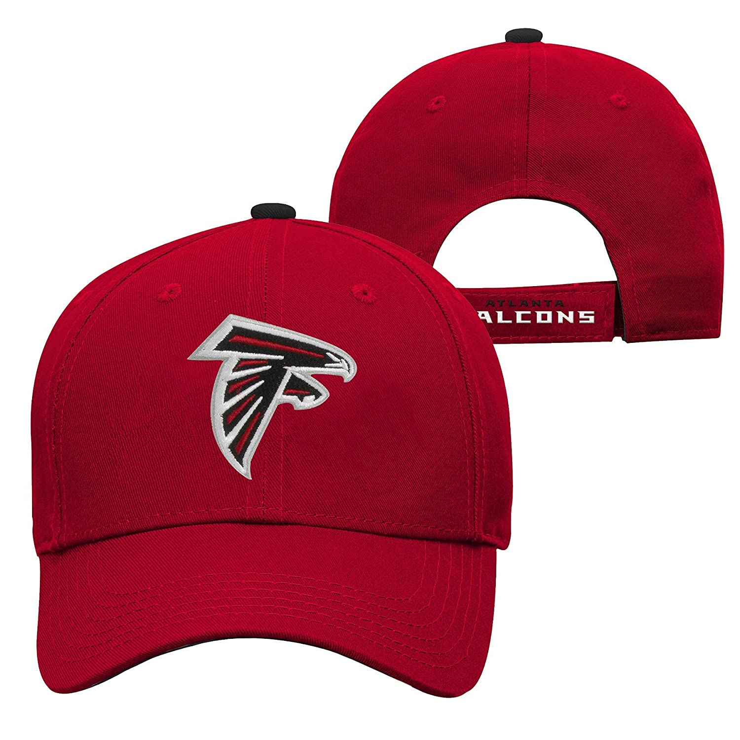 Youth One Size Team Color NFL Atlanta Falcons Youth Outerstuff Structured Adjustable Hat