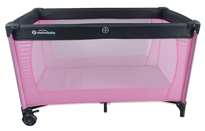 Asalvo Mallorca - Cuna de viaje, color rosa: Amazon.es: Bebé