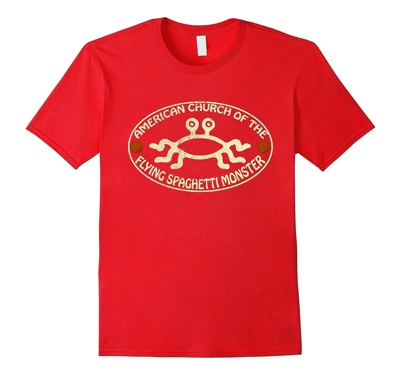 American Church of the Flying Spaghetti Monster NEW T-Shirt-TH