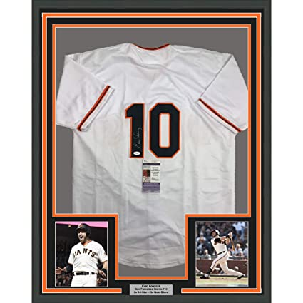 Framed Autographed/Signed Evan Longoria 33x42 San Francisco Giants ...
