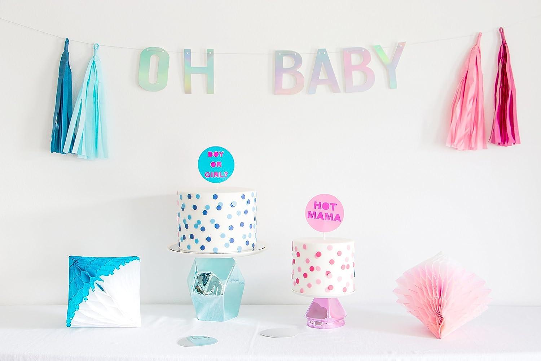 Baby Shower Banner Amazoncom Poshahoolie Premium Quality Oh Baby Shower Banner