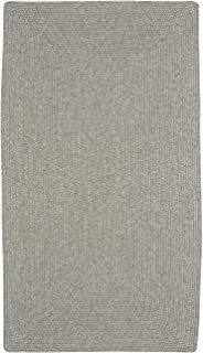 "product image for Candor Green 5' 6"" x 5' 6"" Concentric Rectangle Braided Rug"