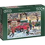 Falcon de luxe 11184 - December Shopping, 500 Piece Jigsaw Puzzle