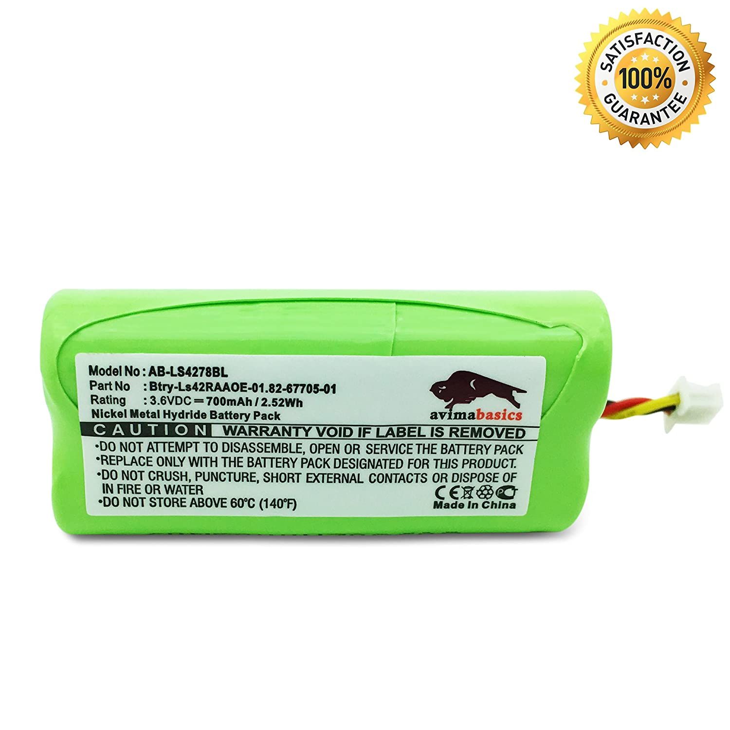 Amazon avimabasics best symbol ls4278 battery premium amazon avimabasics best symbol ls4278 battery premium quality replacement rechargeable battery pack for 36v 800mah motorola symbol ls4278 ls 4278 biocorpaavc Images