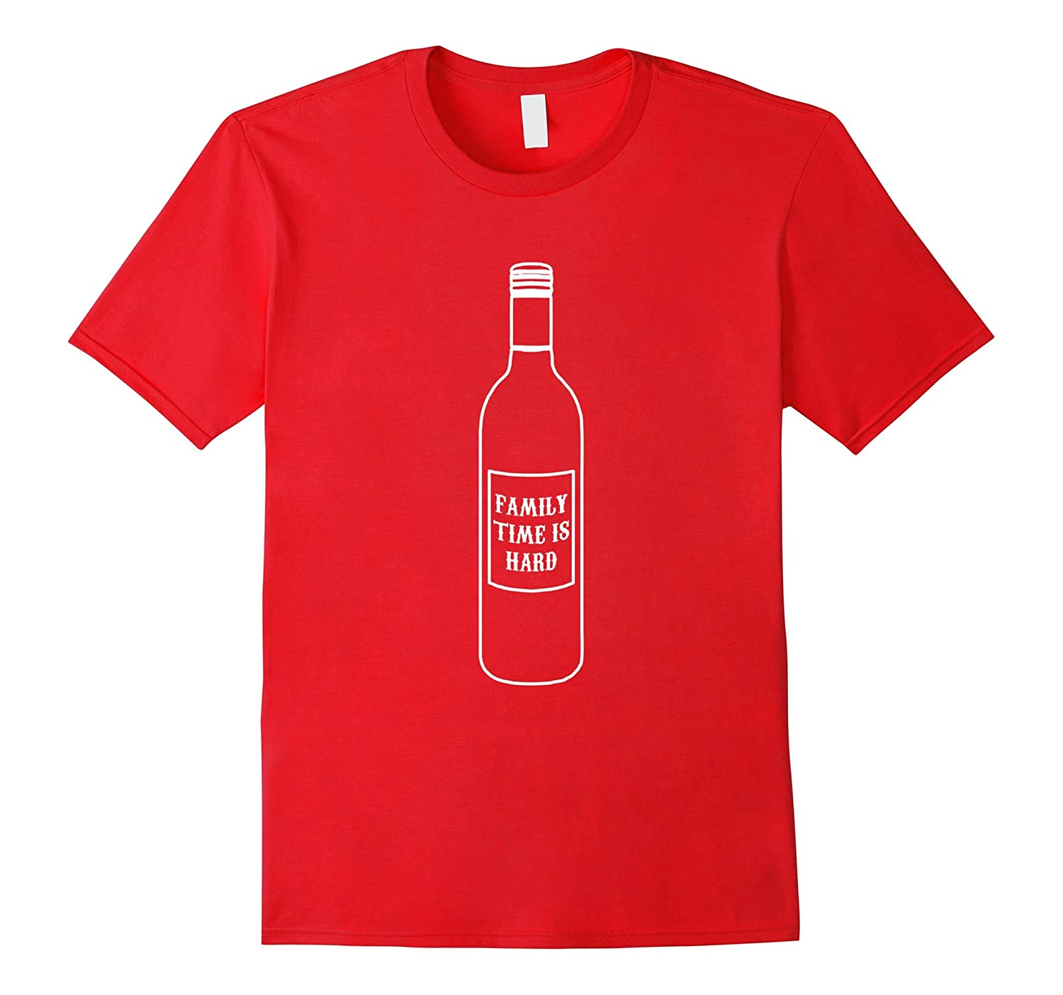 e90ad2b135 Funny Family Time Is Hard Shirt – Wine Lovers Family Reunion-CD – Canditee