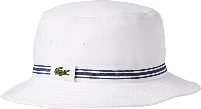 Lacoste RK3741 Sombrero de Sol, Blanco (Blanc), Medium (Talla del ...