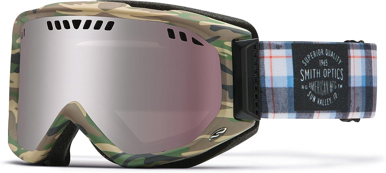 Smith Optics Scope Airflow Series Snocross Snowmobile Goggles Eyewear - Cyprus Plammo/Ignitor/ Medium