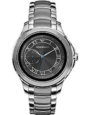 Emporio Armani Herren-Smartwatch mit Edelstahl Armband ART5010