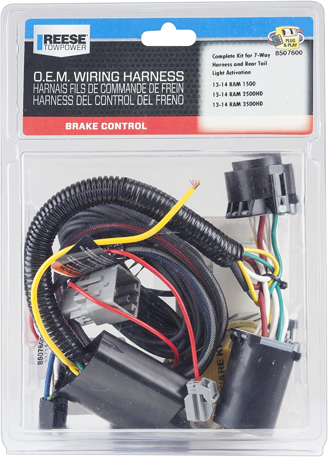Amazon.com: reese towpower 8507600 Control del freno ... on reese 5th wheel hitch, reese hitch accessories, reese cabinets, reese receivers,