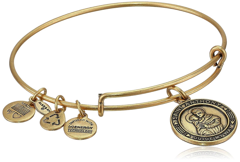 Alex and Ani Claddagh Expandable Charm Bracelet, Rafaelian Gold-Tone