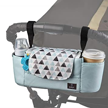 Universal Baby Stroller Detachable Storage Bag Bottle OrganizerPouch Striking
