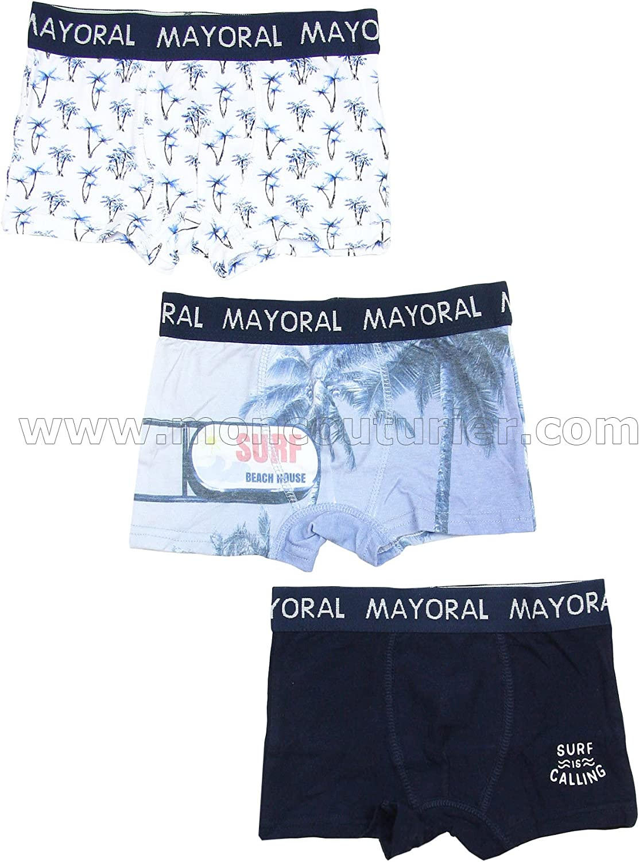 Size 14 Mayoral Boy/'s 3-piece Boxers Set