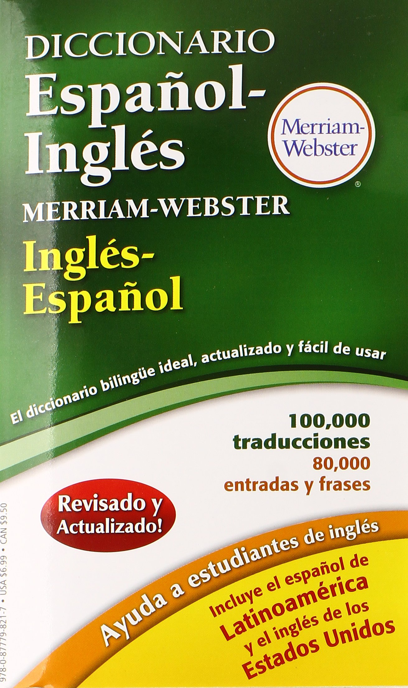 Diccionario Espanol-Ingles Merriam-Webster, New Edition, 2016 copyright ( Spanish and English Edition): Merriam-Webster, Inc.: 9780877798217:  Amazon.com: ...