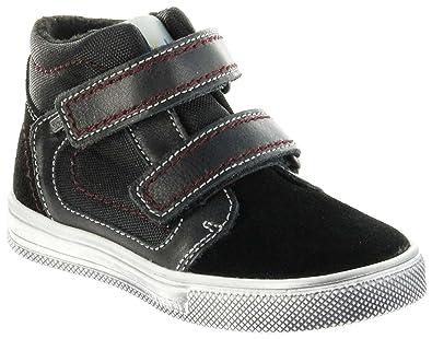 Richter Kinder Halbschuhe Sneaker schwarz Leder Sympatex