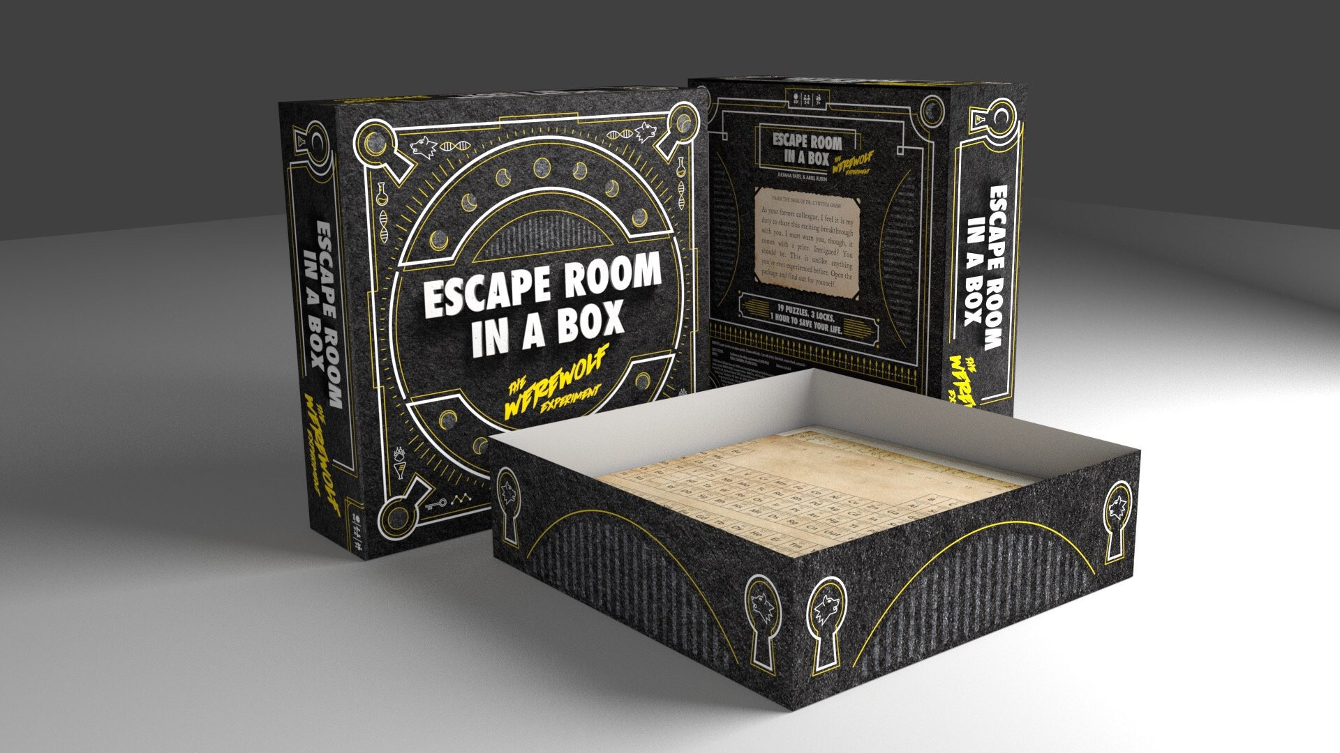 Escape Room in a Box: The Werewolf Experiment by Mattel Games (Image #3)