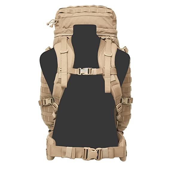 cad350d5a05 Warrior Assault Systems X300 Long Range Patrol Pack, Coyote Tan, Stems -  Amazon Canada